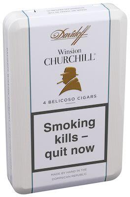 Davidoff Winston Churchill Belicoso 4 pcs