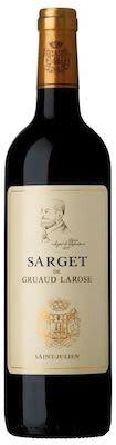 2012 Sarget de Gruaud Larose Saint Julien 75 cl. - Alc. 13.5% Vol.