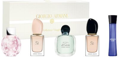 Giorgio Armani Ladies' Miniature Coffret