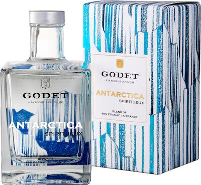 Godet Antartctica 50 cl. - Alc. 40% Vol. In gift box.