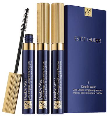 Estée Lauder Double Wear Zero-Smudge Black Mascara Trio Set