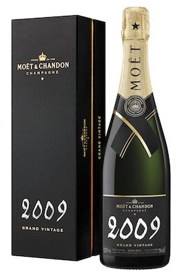 2009 Moët & Chandon Vintage 75 cl. - Alc. 14% Vol. In gift box.