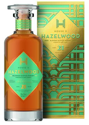 Hazelwood 21 YO, 50 cl. - Alc. 40% Vol. In gift box.