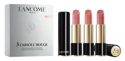 Lancôme Lipstick Set Absolu Rouge Set