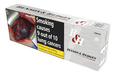 Benson & Hedges Silver 200 pcs