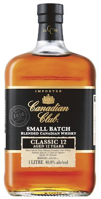Canadian Club Classic  12 YO, 100 cl. - Alc. 40% Vol. Canadian.