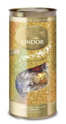 Lindt Lindor Golden Glamour Tube 400 g