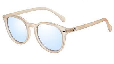 Le Specs Unisex Bandwagon Raw Sugar Sunglasses Blue