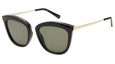 Le Specs Ladies' Caliente Black Sunglasses
