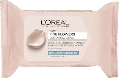 L'Oréal Paris Fine Flowers Cleansing Wipes 50 g.