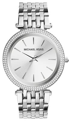 Michael Kors Ladies' Darci Silver-Tone Watch