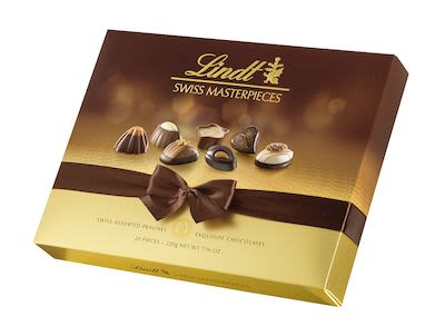 Lindt Assorted Swiss Masterpieces Box 220 g