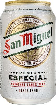 San Miguel Especial 24x33 cl. cans. - Alc. 5.4% Vol.