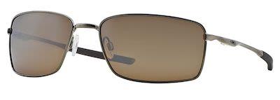 Oakley Gent's Square Wire Polarized Sunglasses