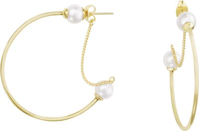Misaki Ladies' Earrings Cercle Gold