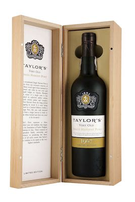 Taylor's Single Harvest Very Old Port 1967 75 cl. - Alc. 20% Vol.