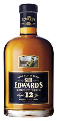 Sir Edward's Scotch Whisky Aged 12 YO, 75 cl. - Alc. 40% Vol.