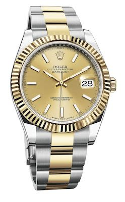 Rolex Gent's Datejust 41 Oyster Perpetual Watch Gold
