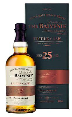 The Balvenie 25 YO Triple Cask, 70 cl. - Alc. 40% Vol. Speyside.