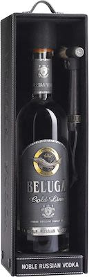 Beluga Gold Line 100 cl. - Alc. 40% Vol. In gift box.