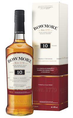 Bowmore 10 YO, 100 cl. - Alc. 40% Vol. In gift box. Islay.