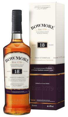 Bowmore 18 YO, 70 cl. - Alc. 43% Vol. In gift box. Islay.