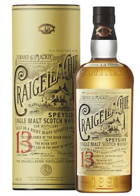 Craigellachie 13 YO 100 cl - Alc. 46% Vol. In gift box. Speyside.