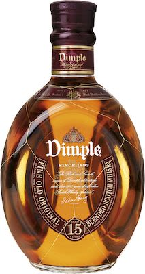 The Dimple 15 Years Old 100 cl. - Alc. 43% Vol. In gift box.