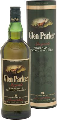 Glen Parker Single Malt, 100 cl. - Alc. 40% Vol. In gift box. Speyside.