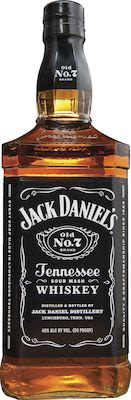 Jack Daniel's Black Label, 100 cl. - Alc. 40% Vol.