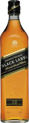 Johnnie Walker Black Label 12 Years Old 50 cl. - Alc. 40% Vol.