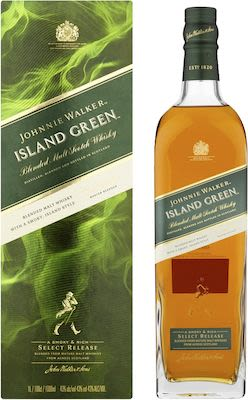 Johnnie Walker Island Green, 100 cl. - Alc. 43% Vol. In gift box.