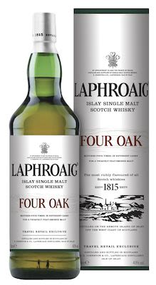 Laphroaig Four Oak, 100 cl. - Alc. 40% Vol. In gift box. Islay.
