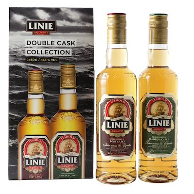 Lysholm Linie Double Cask Collection 2x50 cl. - Alc. 41.5% Vol. In gift box.