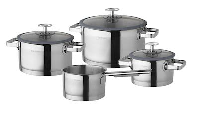 Cuisinox 4-pcs Cookware Set Denim Blues