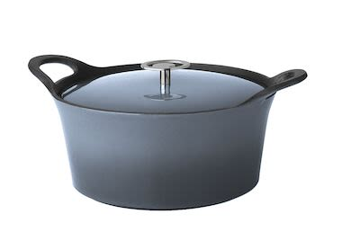 Cuisinox Cast Iron Casserole Denim Blues 24 cm