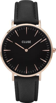Cluse La Bohème Ladies' Watch Rose Gold Black Black