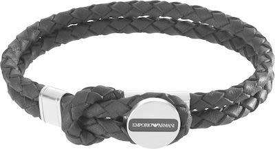 Emporio Armani Gent's Edelstahl Signature Bracelet