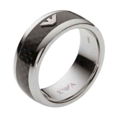Emporio Armani Gent's Iconic Ring Size 10