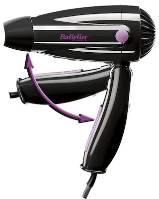 BaByliss Travel Hair Dryer 1200W.