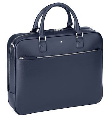 Montblanc Sartorial Document Case Office Bag Indigo