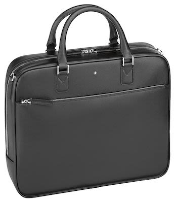 Montblanc Sartorial Document Case Office Bag Black