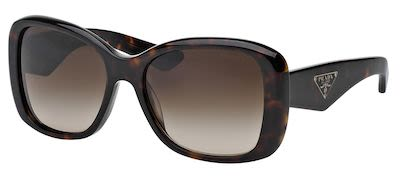 Prada Ladies' Heritage Sunglasses Brown