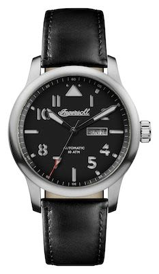 Ingersoll Gents The Hatton Automatic Watch Silver