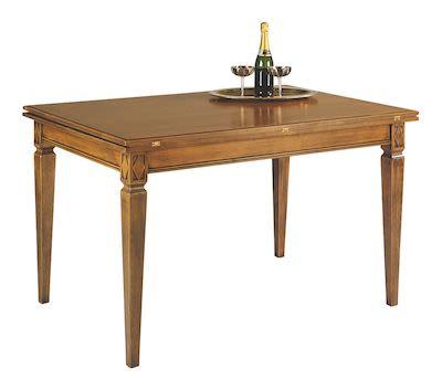 Selva Villa Borghese Dining table, W130xD90 (180)xH77cm