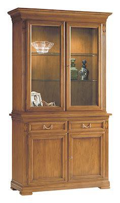 Selva Villa Borghese China cabinet, W122xD48xH215cm