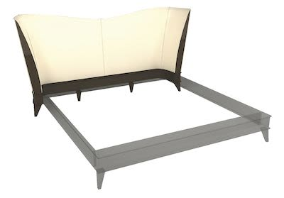 Philipp Selva Vendome Headboard for Double Bed