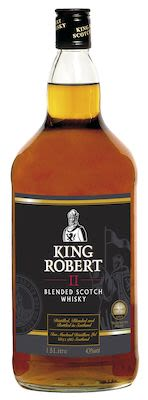 King Robert II Blended Scotch Whisky, 150 cl. - Alc. 43% Vol.