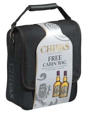 Chivas Regal 12YO Twin Pack with Cabin Bag, 2x100 cl. - Alc. 40% Vol. In gift box.