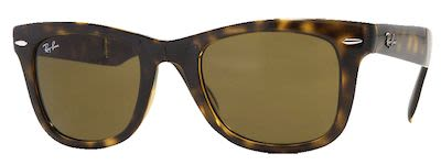 Ray-Ban Gent's Icons Wayfarer Folding Classic Sunglasses